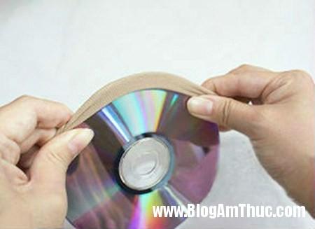 Dep mat voi khung anh duoc lam tu dia CD 2 Khung ảnh sinh động từ đĩa cd