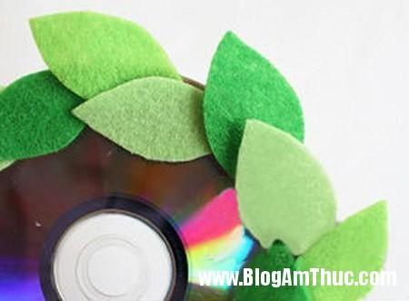 Dep mat voi khung anh duoc lam tu dia CD 6 Khung ảnh sinh động từ đĩa cd