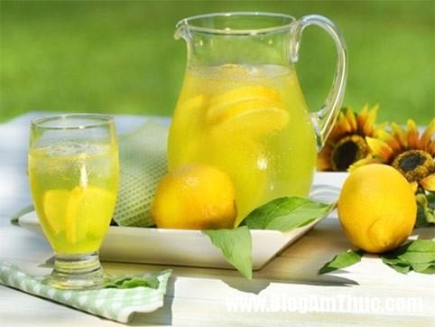 Hạ nhiệt cho cơ thể bằng đồ uống