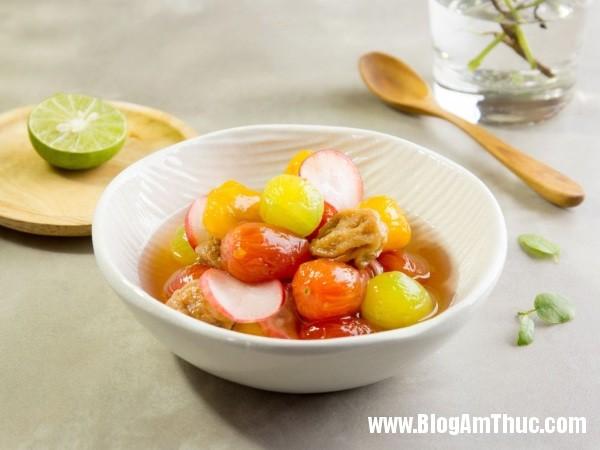rau cu 1 Cách làm cà chua bi và củ cải đỏ ngâm chua ngọt