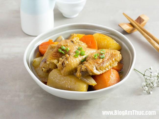 clip image0071 Ngon cơm , hấp dẫn cánh gà kho củ cải