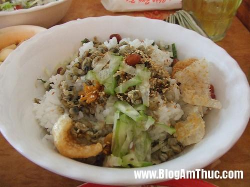 com ngon hen Đậm đà văn hoá ẩm thực miền trung