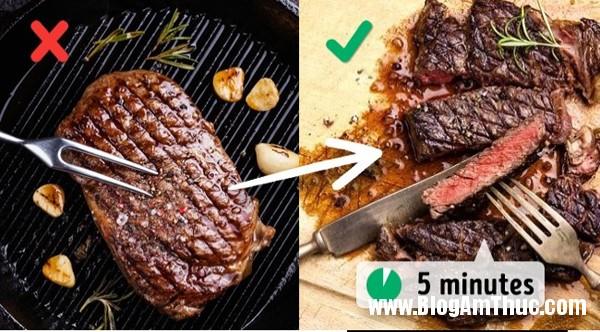 Những sai lầm trong nấu nướng làm hỏng món ăn của bạn8 Những điều sai lầm trong nấu nướng làm hỏng món ăn của bạn