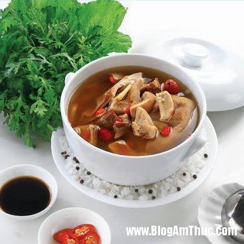 bien tau 5 mon an voi thuoc bac la mieng hap dan hinh 5 Cách biến tấu 5 món ăn với thuốc bắc lạ miệng, hấp dẫn