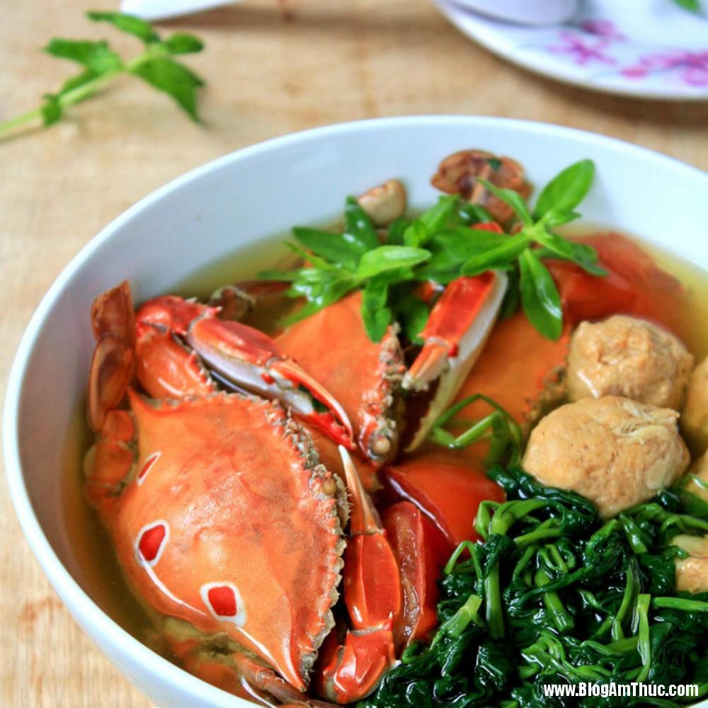 cong thuc nau canh ghe nau rau muong thom ngon bo duong cho ngay he 00071164 phunutoday Công thức để nấu canh ghẹ nấu rau muống thơm ngon bổ dưỡng cho ngày hè