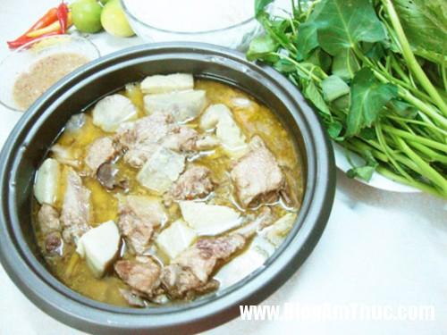 vit om e1489146037944 Nấu món vịt om nước cốt dừa cho bữa cơm chiều thêm ngon khó cưỡng