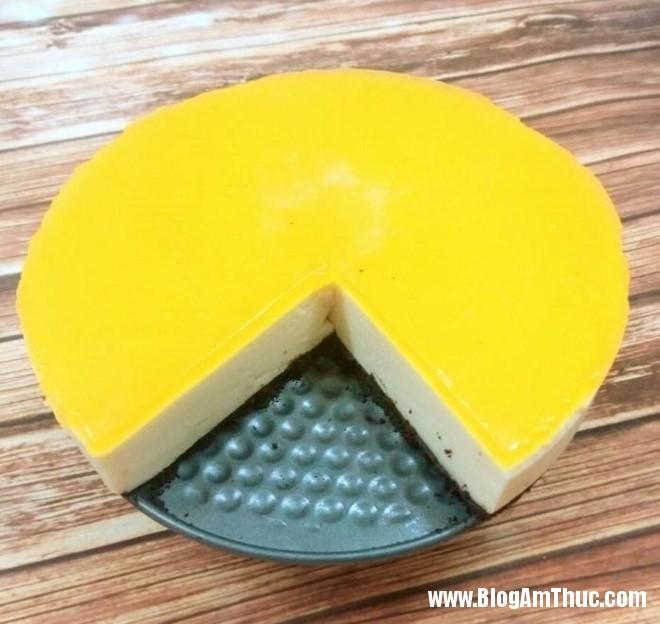 19642537 1414477205288206 3368292361415430515 n Không cần lò nướng vẫn có thể làm bánh cheesecake chanh dây mát lạnh ngon tuyệt