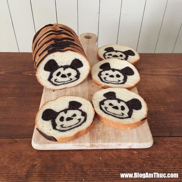 banh my xinh xan 10 Mê mẩn những lát bánh mì đáng yêu của mẹ Nhật làm cho bé