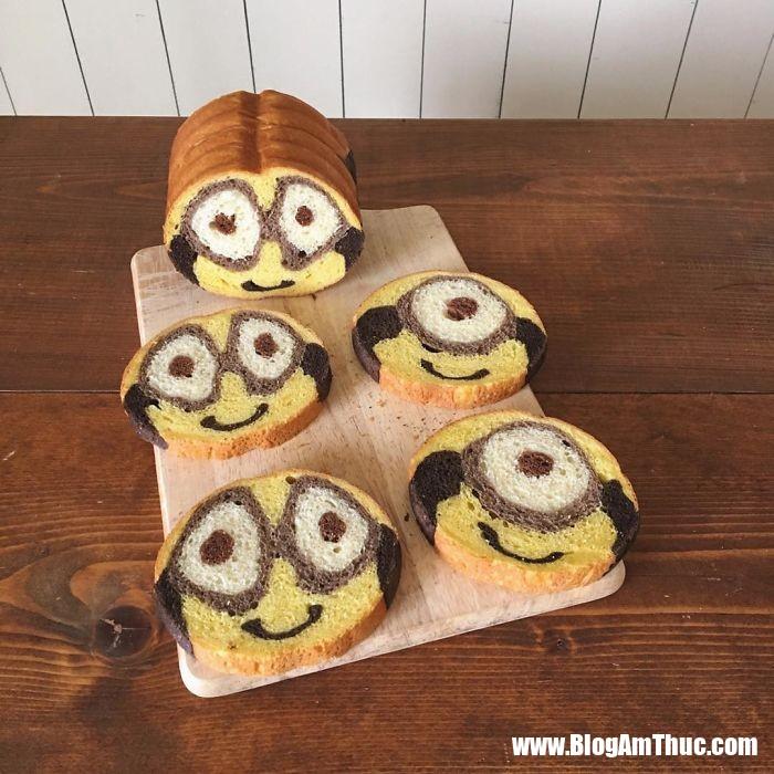 banh my xinh xan 12 Mê mẩn những lát bánh mì đáng yêu của mẹ Nhật làm cho bé
