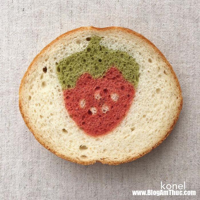banh my xinh xan 16 Mê mẩn những lát bánh mì đáng yêu của mẹ Nhật làm cho bé