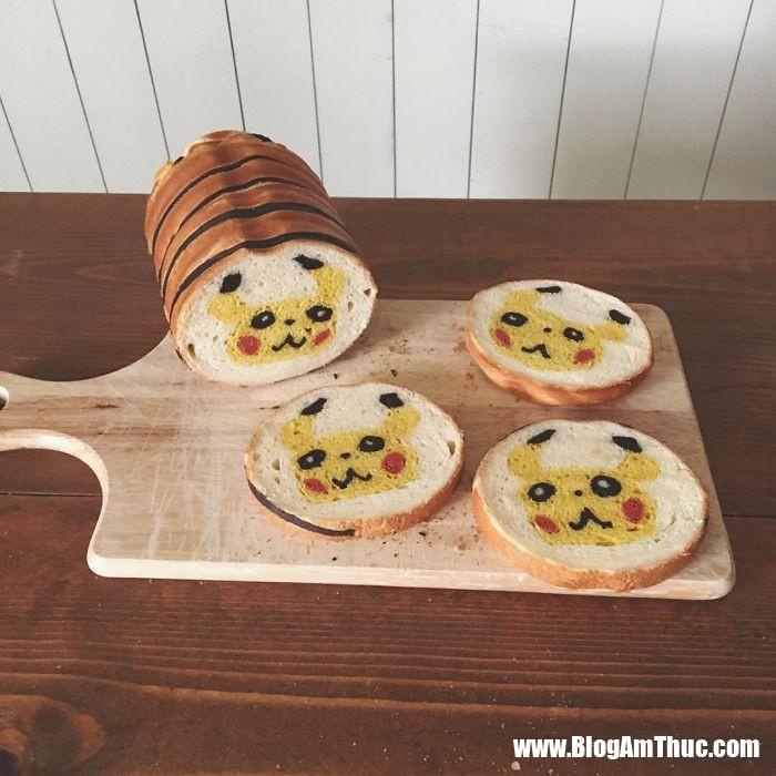 banh my xinh xan 17 Mê mẩn những lát bánh mì đáng yêu của mẹ Nhật làm cho bé