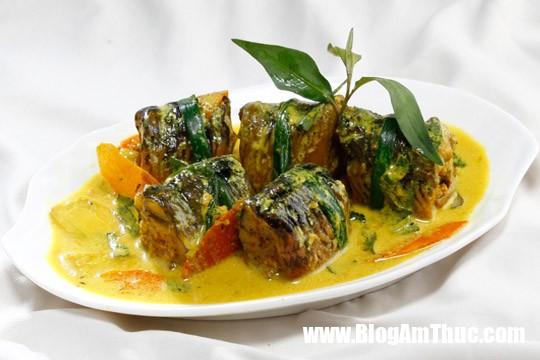 luon cuon thit om rieng 540 360 Sáng tạo với lươn cuốn thịt om riềng kích thích vị giác bửa cơm gia đình