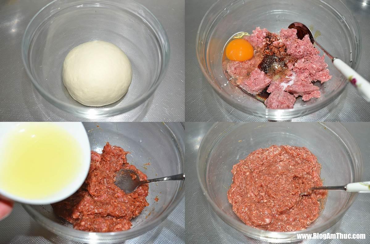 banh ran ngan lop 1 15280307335191708374669 Món bánh rán ngàn lớp nhân thịt bò ngon mê ly