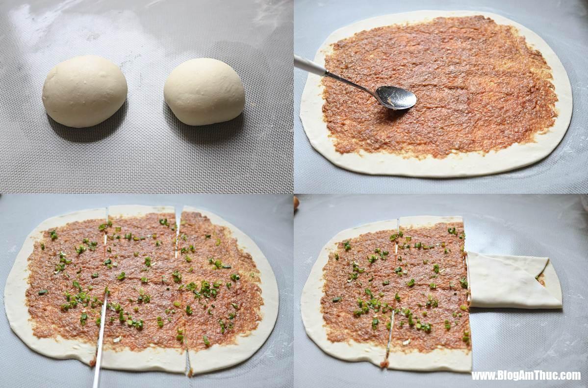 banh ran ngan lop 2 15280307335241083886812 Món bánh rán ngàn lớp nhân thịt bò ngon mê ly