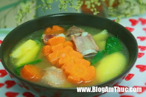 7 mon canh khoai ngon giup ban thay doi thuc don cho ca tuan 907d83 Canh khoai dễ nấu, làm mát cơ thể và đổi vị cho cả gia đình