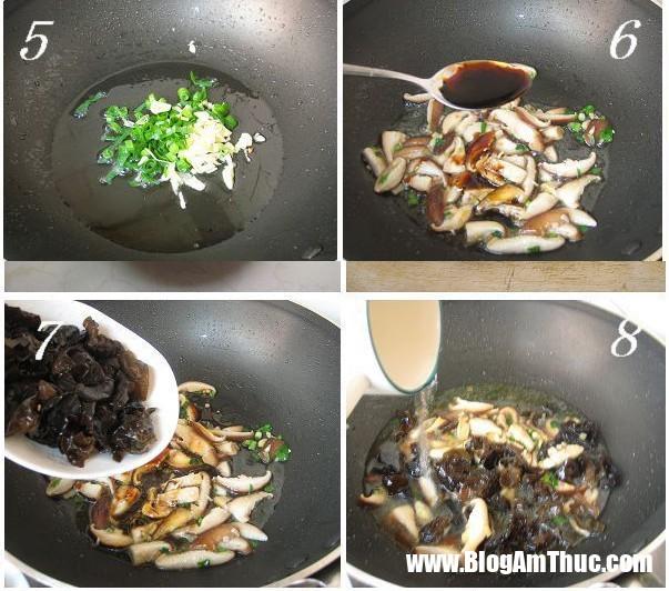 2 1545059953937101890747 Các bước cụ thể nấu nấm hương chiên đậu phụ
