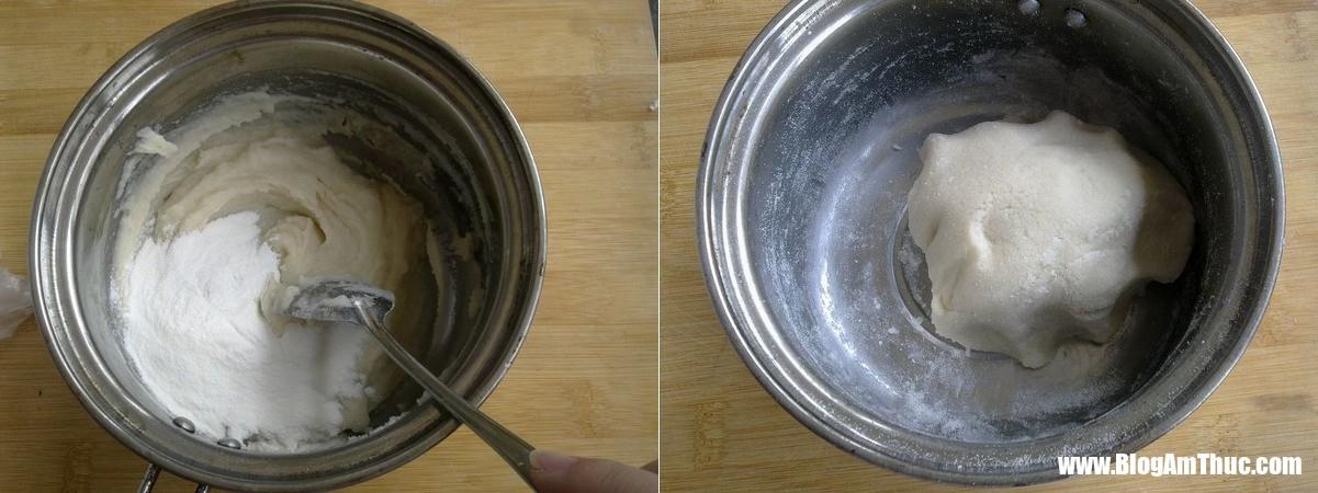 banh nep boc duong 2 1546019724237122799774 Chỉ với bột gạo nếp và đường đã có thể làm món bánh ăn vặt giòn tan