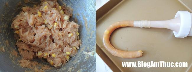 xuc xich ga 3 154893019378521338026261 Cách làm xúc xích tại nhà với nguyên liệu chính là gà