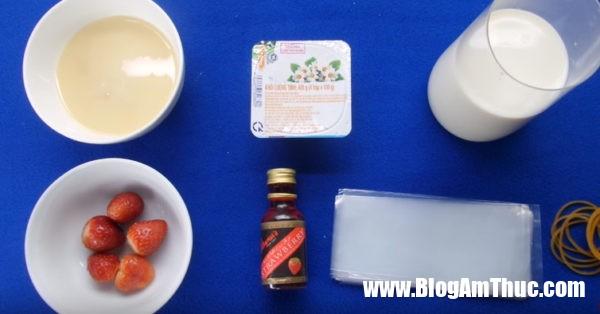cach lam sua chua tui 600x314 Lưu ý gì khi làm sữa chua túi vị hoa quả?