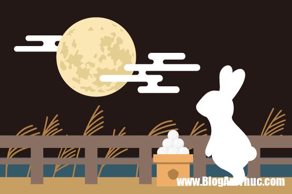 Nguoi Nhat Ban an gi vao dem trung thu 5 Người Nhật Bản ăn gì vào đêm trăng rầm?