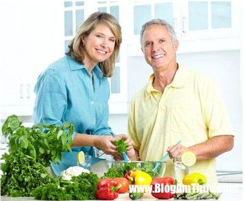 món ăn 2 Nên chú ý tới thực đơn khi nấu ăn cho người già